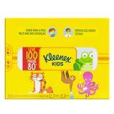 Lenços de Papel Folha Dupla Suave Kids Kleenex Caixa 100 Unidades Leve 100 Pague 80