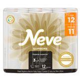 Papel Higiênico Folha Dupla Supreme Neve Pacote Leve 12 Pague 11