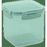 Pote Quadrado Click Verde Martiplast 1.5l 1 Unidade