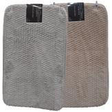 Tapete de Banheiro Cinza Soft Touch 40x60cm