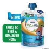 Purê de Frutas Pera, Banana e Mirtilo Naturnes 99g Nestlé