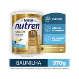 Composto Lácteo Baunilha Nutren Senior Nestlé Lata 370g