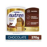Composto Lácteo Chocolate Nutren Senior Nestlé Lata 370g