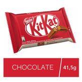 Wafer com Recheio e Cobertura de Chocolate ao Leite Nestlé Kitkat 41,5g