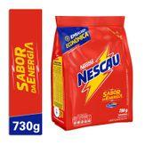 Achocolatado em Pó Nescau Sabor da Energia Nestlé Pacote 730g Embalagem Econômica