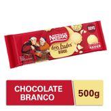 Chocolate Branco Dois Frades Nestlé 500g Novo