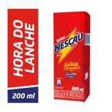 Bebida Láctea Chocolate Active-Go Nestlé Nescau Caixa 200ml