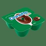 Sobremesa Láctea Cremosa Creme de Avelã Danette Bandeja 360g 4 Unidades