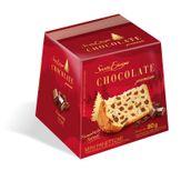 Mini Panettone com Gotas de Chocolate Premium Santa Edwiges Caixa 80g