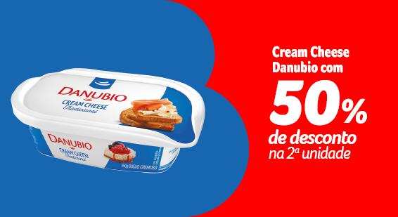 Barato do BIG - Cream Cheese Danubio com 50% de desconto na 2a unidade - Sugestões - 21.09